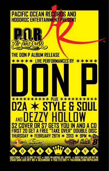 DONP Album Release