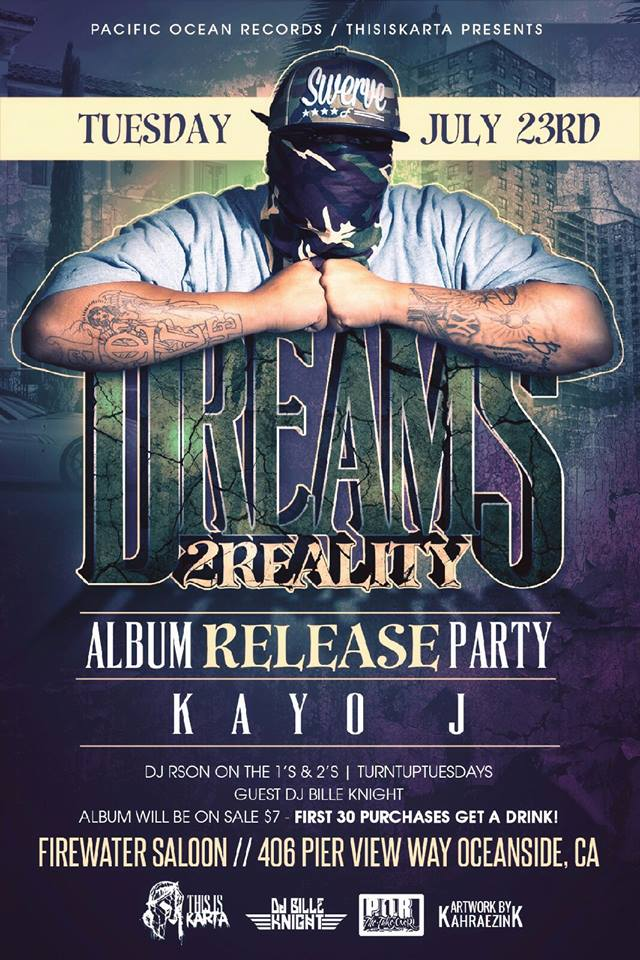 KAYO J ALBUM RELEASE